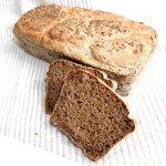 Хлеб на закваске Бородинский заварной (1 шт.)