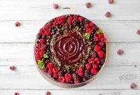 """Кешьюкейк """"Berry Celebration"""" ( сырой торт), 1кг"""