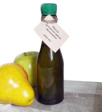 Фото Масло грецкого ореха холодного отжима домашнее (200 мл)