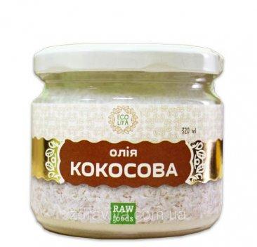 Фото Масло кокосовое первого холодного отжима (300 мл)