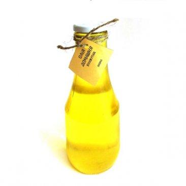 Фото Масло из семян кунжута холодного отжима домашнее (300 мл)