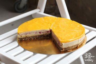 """Фото Кешьюкейк """"Тропический"""" ( сыроедный торт), 1кг"""