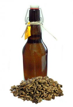 Фото Масло из семян расторопши холодного отжима домашнее (500 мл)