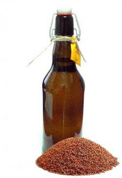 Фото Масло семян рыжика холодного отжима домашнее (500 мл)