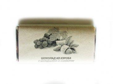 Фото Шоколад на керобе с миндалем и изюмом 50 г